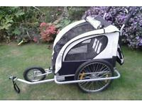 CHILDS BIKE TRAILER/DOUBLE BUGGY CAN CARRY 2 YOUNG CHILDREN SOUTHEND OR LAINDON