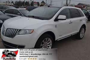 2011 Lincoln MKX AWD Navigation Camera No Accident