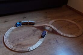 Thomas and Friends wooden trains and track