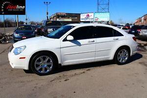 2010 Chrysler Sebring LIMITED CHROME WHEELS-HEATED LEATHER-SUNRO