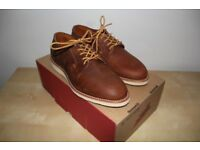 Red Wing Postman Oxford Copper Leather UK 7
