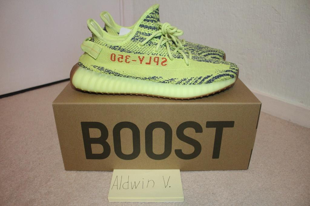 1bbf90222 ... 350v2 sneakers sport shoes blackyellow 851ff 4f4bc  switzerland adidas  yeezy boost 350 semi frozen yellow uk 11 8574c 41e11