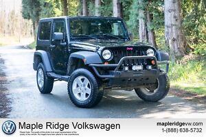 2010 Jeep Wrangler Sport Custom Push Bar