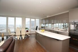HUGE 17th FLOOR 3 BEDROOM 2 BATH APARTMENT WITH PRIVATE TERRACE AND PARKING IN ROYAL DOCKS E16 CW