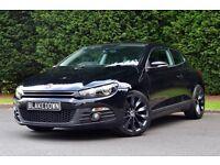 *FINANCE FROM £46/WEEK* VW SCIROCCO GT 2.0TDI - LOW MILEAGE - FSH - BLACK - DIESEL - GREAT MPG