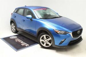 2016 Mazda CX-3 GX+A/C+AWD+AUTOMATIQUE