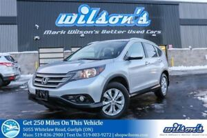 2012 Honda CR-V AWD SUV! LEATHER! NAV! SUNROOF! REAR CAMERA HEAT
