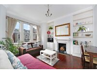Well located 2 bedroom flat - popular SW6 road - available 27th April