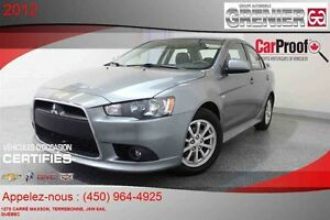 2012 Mitsubishi LANCER GT *CUIR + MAGS + TOIT OUVRANT*