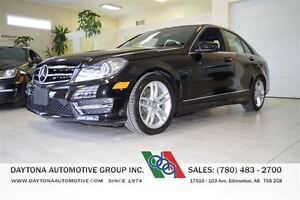 2014 Mercedes-Benz C-Class 27, 000KMS! ALL WHEEL DRIVE LOADED