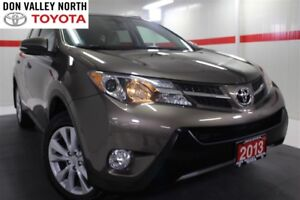 2013 Toyota RAV4 LIMITED AWD Sunroof Nav Btooth Heated Lther