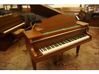Morley baby grand symmetrical piano. Tuned and Uk delivery available