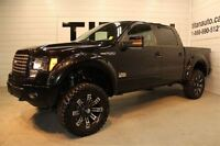 2012 Ford F-150 Lifted, FX4, Leather, Sunroof, 35 Tires