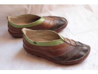 El Naturalista Organico #072 Leather Shoes, Size 6 (39)