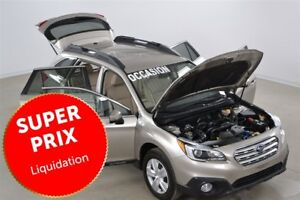 2015 Subaru Outback 2.5 Bluetooth+Sieges Chauffants+Camera de Re
