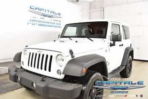2015 Jeep Wrangler SPORT*TOIT DUR COLOR MATCH*
