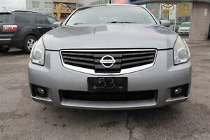 2007 Nissan Maxima SL, V6, ACCIDENTS FREE, ONE OWNER,  SUNROOF,
