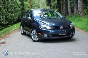 2013 Volkswagen Golf A6 5-DOOR 2.5L 6-SPEED AUTOMATIC WOB