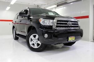 2015 Toyota Sequoia SR5 4WD SUNROOF LEATHER BACKUP CAMERA TOYOTA