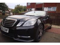 62 reg Mercedes Eclass 2.1 E250 CDI BlueEFFICIENCY sport AUTO 7gears