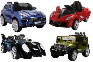 KIDS RIDE ON ELECTRIC CARS - 16 MODELS AVAILABLE - PRICE MATCH GUARANTEED - FREE SHIPPING