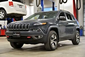 2017 Jeep Cherokee TRAILHAWK * V6 * TOIT PANO * GPS * CUIR *