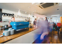 Restaurant Managers, Specialty Coffee Baristas & Waiters - Full time & Part time positions