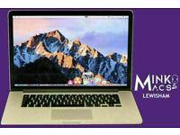 Apple MacBook Pro 15.4' Retina Display Quad Core i7 2.4GHz 16GB Ram 256GB SSD Creative Apps Warranty