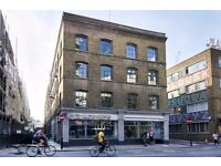 Warehouse conversion studio in the heart of Shoreditch, walking distance to City