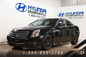 2010 Cadillac CTS 3.0L + LUXURY + MAGS + CUIR + TOIT PANO + WOW!