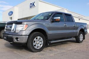 2011 Ford F-150 Lariat Chrome Package 4X4 ShortBox 5.0L V8, 3.73