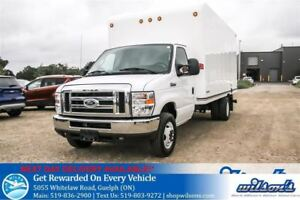 2016 Ford E-350 E350 CUBE VAN 16 FOOT BOX! DUAL REAR WHEELS! REA