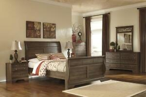 ASHLEY QUEEN BEDROOM COLLECTION | ASHLEY FURNITURE BEDROOM SETS | BEDROOM FURNITURE SALE TORONTO (ASH2)