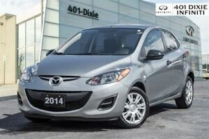 2014 Mazda MAZDA2 GX, A/C, Power Windows and Locks!