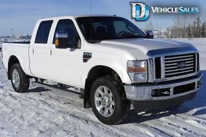 2010 Ford F-350 LARIAT, DIESEL, NAVIGATION, HEATED LEATHER SEATS