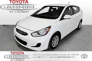 2013 Hyundai Accent GS + AUTOMATIQUE  A/C + AUX + BLUETOOTH + SI