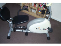 V-Fit G Series RC Recumbent Magnetic Flywheel Exercise Bike