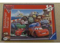 Cars 2 Ravensburger Jigsaw Puzzle 100 pieces Age 6+ PLUS 60 piece Jigsaw