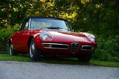 "1969 Alfa Romeo Spider 2 door convertible '69 Alfa Romeo Spider Veloce 1750 ""Boat-Tail"", Pininfarina designed, series 1"
