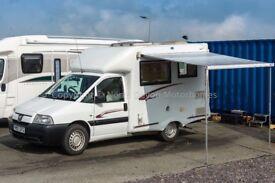 Nu Venture Rio, 2007, Compact 2 Berth Coachbuilt Motorhome, Only 18650 Miles
