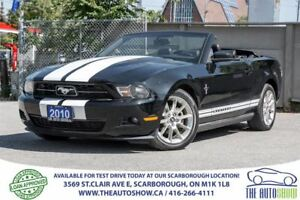 2010 Ford Mustang CONVERTIBLE V6 LEATHER