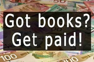 Sell your used textbooks, get paid instantly!!