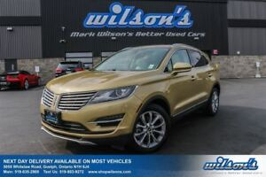 2015 Lincoln MKC AWD! LEATHER! NAVIGATION! PANORAMIC SUNROOF! HE