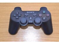 Sony PS3 Playstation 3 Wireless Controller Black