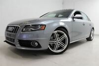 2011 Audi S4 3.0 Premium (S tronic) AWD * CUIR + TOIT + MAGS!*