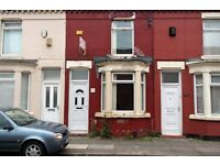 98 Sedley Street, Anfield, 2 bedroom terraced to let with GCH. DSS welcome.