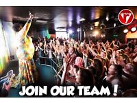 Bar staff needed for Bar & Club Revenge, Brighton