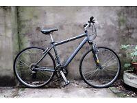 MONGOOSE CROSSWAY, hybrid road city bike, 19.5 inch, 21 speed