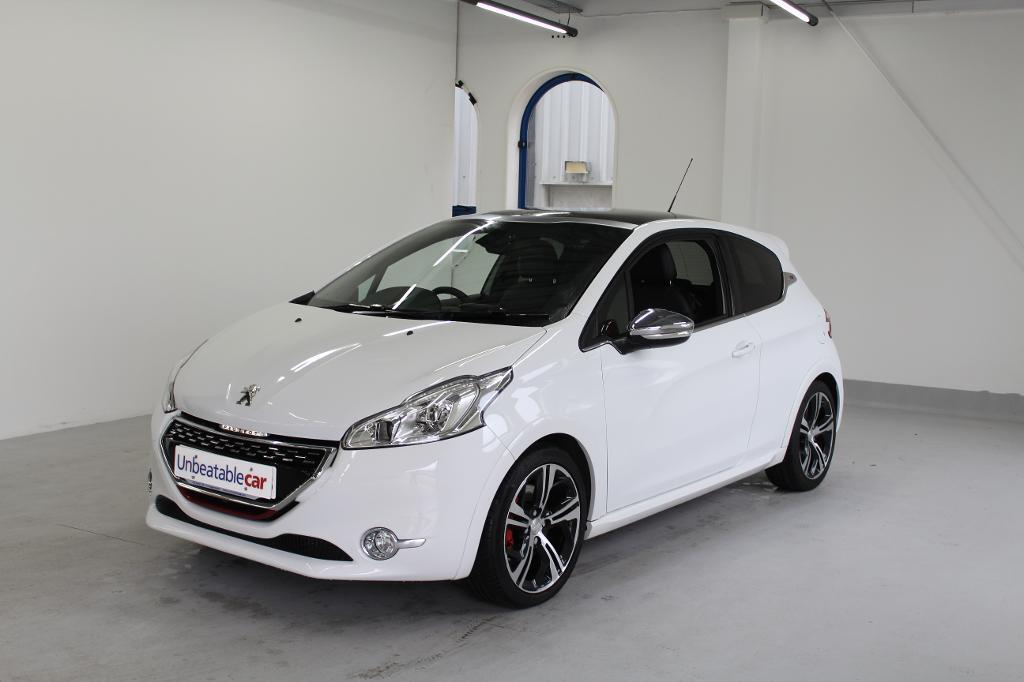 peugeot 208 1 6 thp gti 3dr white 2014 in crawley west sussex gumtree. Black Bedroom Furniture Sets. Home Design Ideas