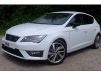 2014 Seat Leon FR 2.0 TDI 184ps 38K Manual ACC Full Leather Seat Sound Tec Pack